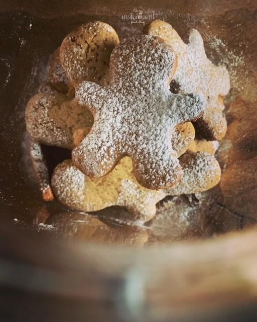 Ricetta Biscotti Pan di Zenzero